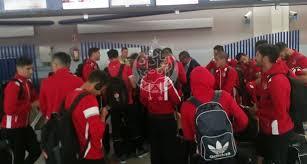 دوري أبطال أفريقيا.. بعثة الوداد حصلات في الغابون