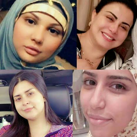 بالصور.. فنانات مغربيات بدون مكياج في رمضان