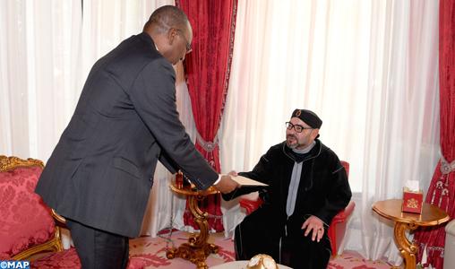 حمل رسالة خطية من بوخاري.. الملك يستقبل مبعوثا من الرئيس النيجيري