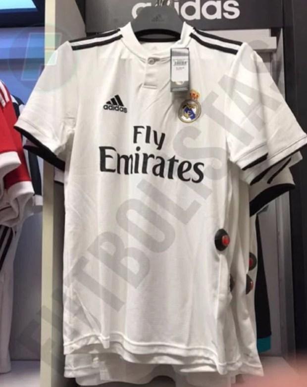 بالصور.. تسريب قميص ريال مدريد للموسم المقبل
