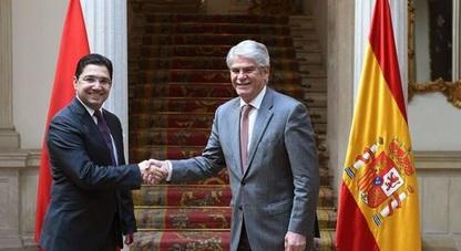 سياسة واقتصاد.. وزير الخارجية الاسباني يلتقي بوريطة