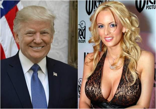 اللي دار راسو في النخالة.. ممثلة إباحية في عرض كوميدي أمريكي يسخر من ترامب