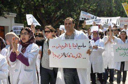 بسبب الاقتطاعات.. الأطباء دايرين إضراب عاوتاني