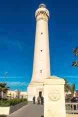 16.01.19, Casablanca, Maroc. Phare El Hank de Casablanca.