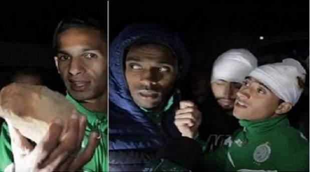 بعد تعرضهم لاعتداء بالحجارة.. لاعبو الرجاء يقاطعون التداريب