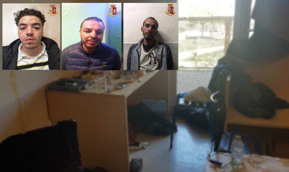 بالفيديو من إيطاليا.. اعتقال 3 حراكة مغاربة بسبب السرقة