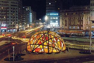 """كازا بيض وكحل (8).. """"زيفاغو"""" أو الكرة الأرضية (صور)"""
