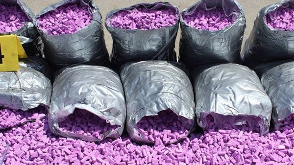 القرقوبي المحجوز في ميناء طنجة.. أكثر من 51 ألف حبة إكستازي