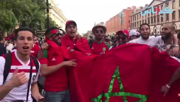 مؤثر من روسيا.. الجمهور المغربي متعاطف مع بوهدوز وأمرابط وكيشجع المنتخب