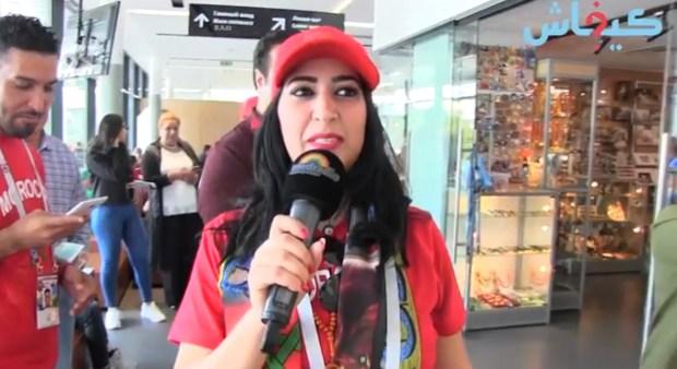 دنيا بوطازوت من روسيا: بغينا واحد لزيرو ولا جوج لزيرو المهم نربحو باش ما عطى الله
