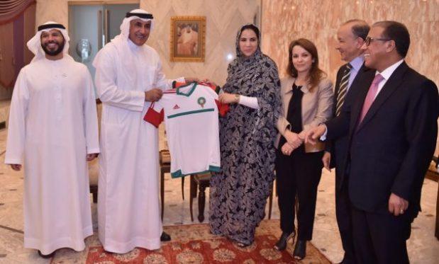 بالصور.. الإمارات تدعم الملف المغربي لاحتضان مونديال 2026