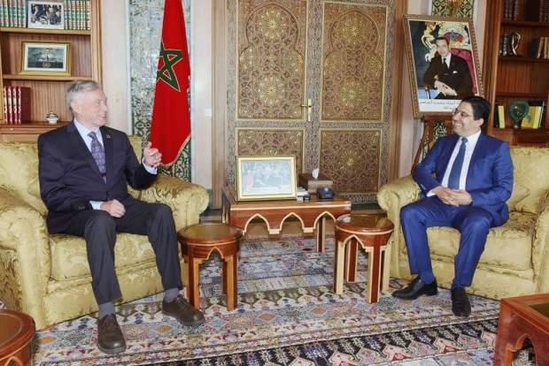بالصور من الرباط.. بوريطة يستقبل مبعوث الأمين العام الأممي إلى الصحراء