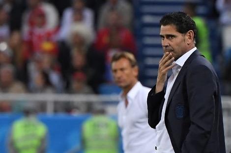 مدرب إسبانيا يعترف: المغاربة يستحقون التأهل