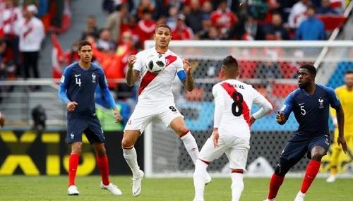 تأهلت إلى الدور الثاني.. فرنسا تتغلب بصعوبة على البيرو