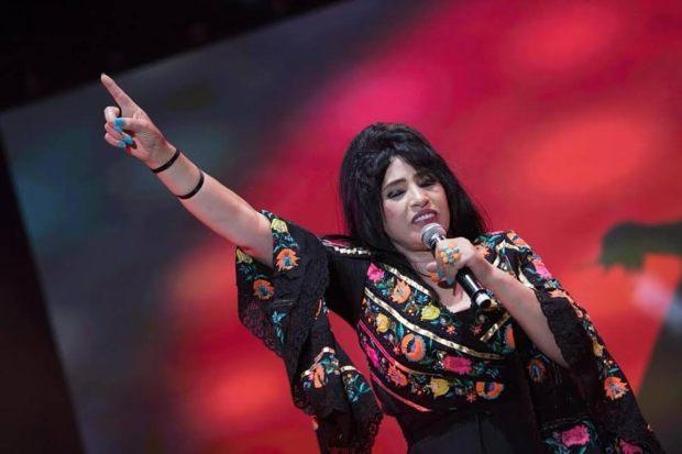 فرحانة.. نجاة عتابو تشكر الحضور في حفلة موازين (صور)