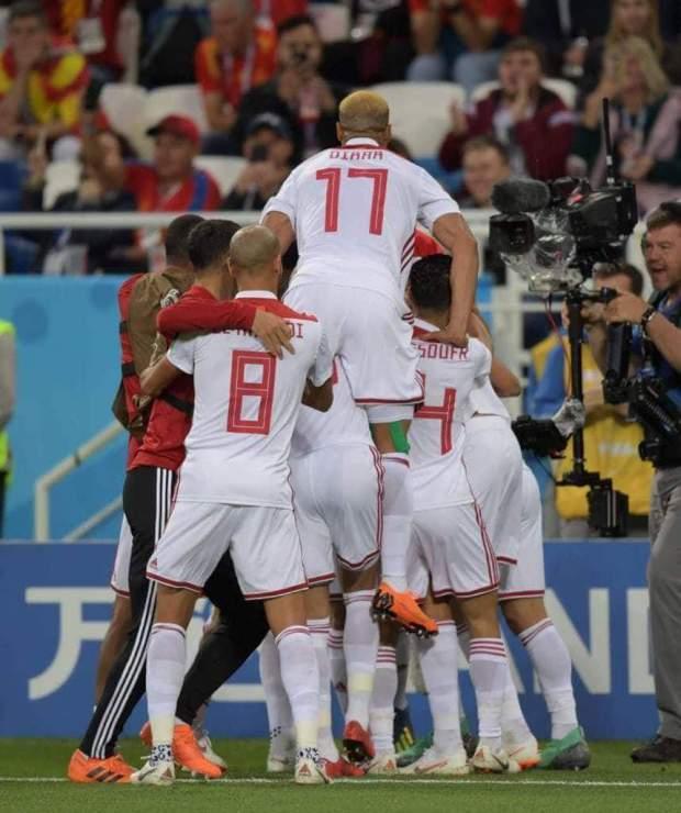 تعادل ومباراة تاريخية.. الأسود يقهرون (حاملة) كأس العالم!! (صور وفيديوهات)
