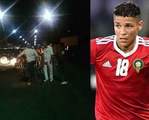 بالصور من مراكش.. شقيق نجم المنتخب المغربي حاريث وراء حادثة سير مميتة