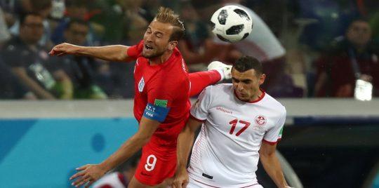 أمام إنجلترا.. نحس الدقيقة 90 يضرب تونس