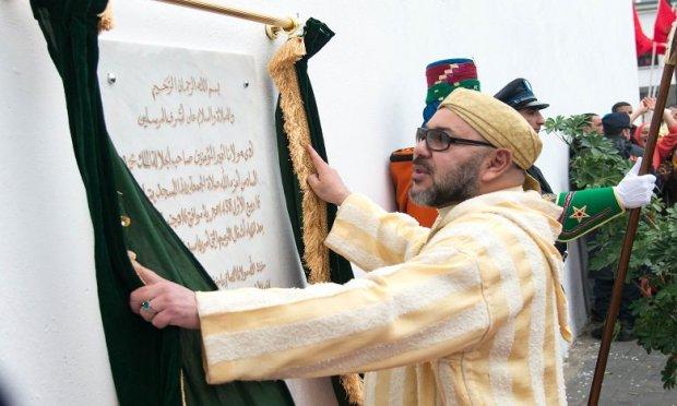 طنجة.. الملك يدشن مسجد الأميرة للا عبلة