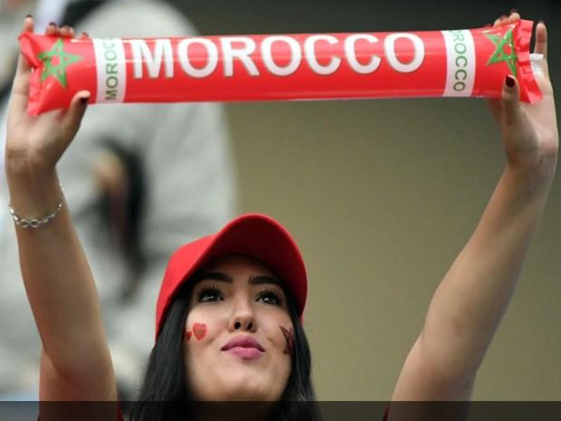 جميلات مونديال روسيا.. الزين المغربي حاضر