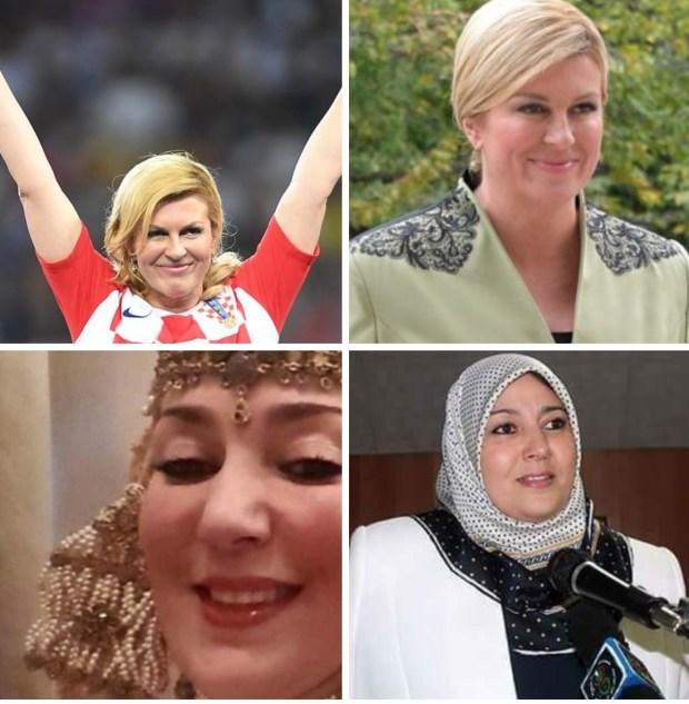 رئيسة حزب جزائري عاجبها راسها: أنا هي النسخة الحلال لرئيسة كرواتيا!!
