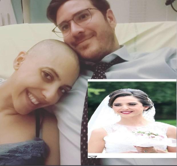 قصة مؤثرة.. مغربية وفرنسي يقهران السرطان بالحب!! (صور)