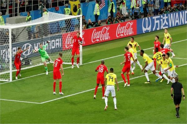 من نقطة الجزاء.. الإنجليز يسترجعون الأمجاد ويهزمون كولومبيا