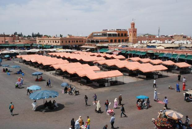 مراكش.. حملة لإخلاء الشوارع من الحمقى والمشردين والمتسولين