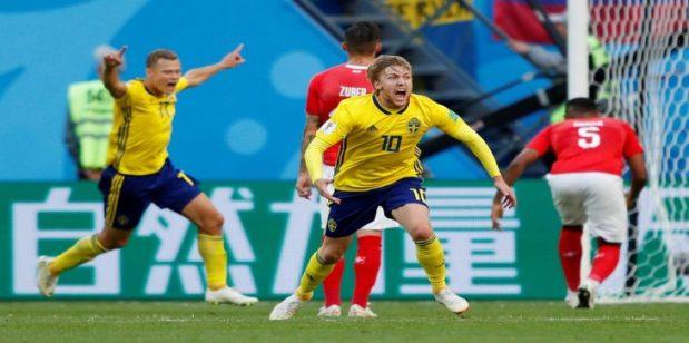بهدف وحيد.. السويد تتأهل إلى ربع نهاية كأس العالم