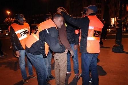 13 موقوفا بينهم فتاة.. ويكاند القرقوبي والأسلحة البيضاء في طنجة