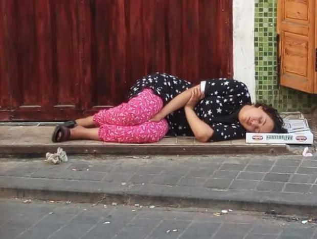 بالصور من كازا.. حملة لإنقاذ فتاة قاصر من التشرد