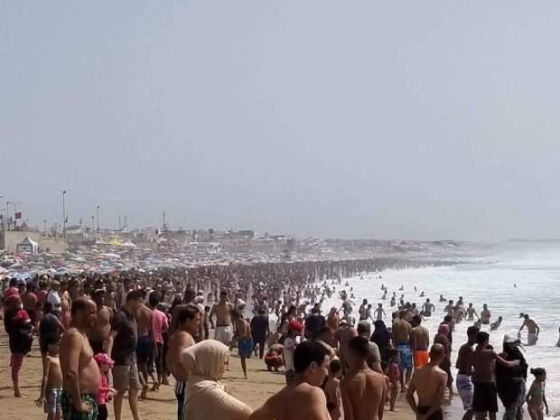 شاطئ المهدية/ القنيطرة.. يوم الحشر!