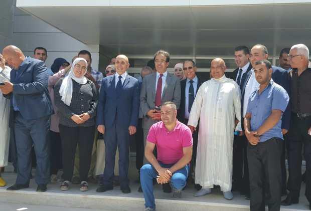 """بالصور من الدريوش.. الوزير بنعتيق محتفل بـ""""مغاربة العالم"""""""
