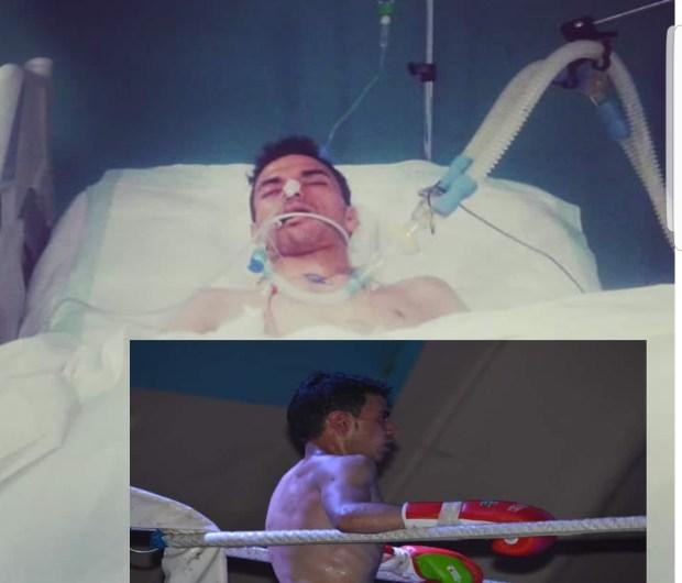 أسرته تستنجد بالجامعة.. ملاكم شاب في غيبوبة منذ 13 يوما  (صور)