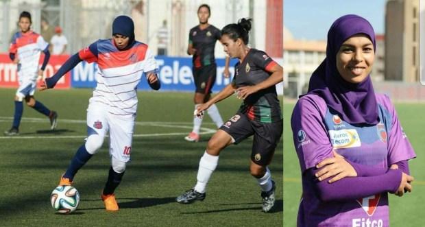 تدربات وهربات.. لاعبة في المنتخب النسوي حركات فإسبانيا