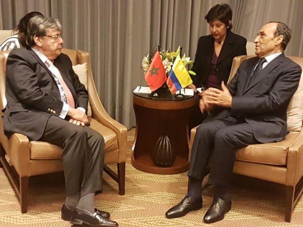 حجة وزيارة.. المالكي يجري مباحثات في كولومبيا بعد حضوره تنصيب الرئيس الجديد ممثلا للملك (صور)