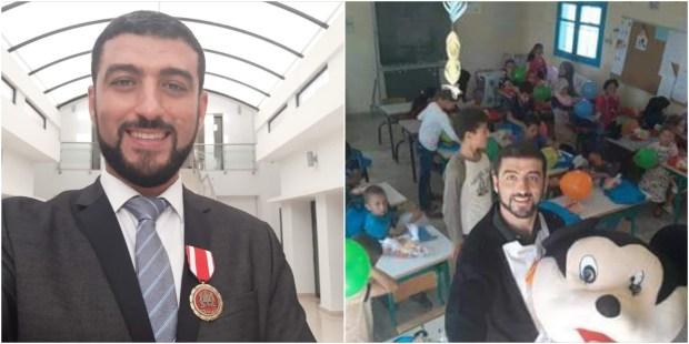 هشام الفقيه.. حكاية رجل تعليم كرّمه الملك (صور)