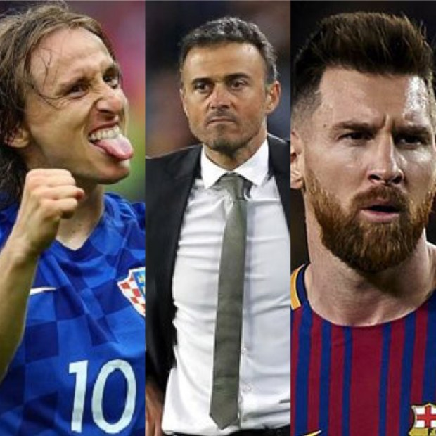 لويس إنريكي: ميسي أفضل لاعب في العالم وليس موديريتش!