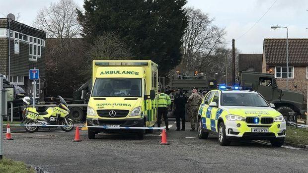 لندن.. 3 جرحى في حادث دهس أمام مسجد