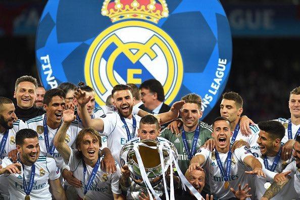 في أوروبا.. ريال مدريد يحصد جائزة أفضل نادي