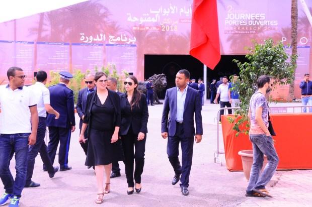 بالصور من مراكش.. البوليس يفتح أبوابه