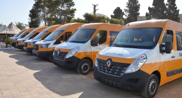 420 حافلة و4200 دراجة.. 40 ألف من تلاميذ درعة تافيلالت يستفيدون من النقل المدرسي
