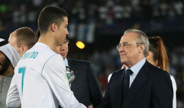 رئيس ريال مدريد ما سخاش برونالدو: سيعود يوما ما
