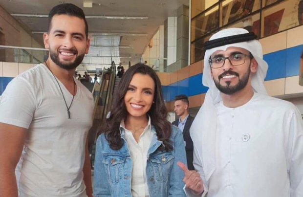 """بالصور من مصر.. أمينوكس يمثل المغرب في """"منتدى شباب العالم"""""""