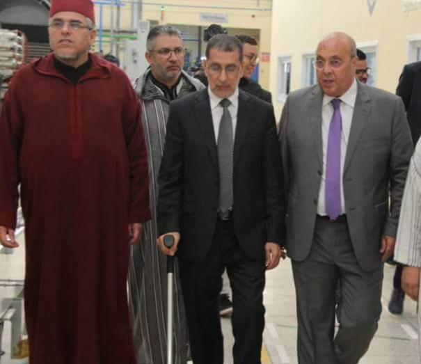 أكادير.. العثماني يتفقد منشأة صناعية لإنتاج الأعمدة الكهربائية