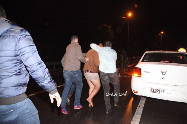 بالصور من المحمدية.. قطع رأس ضحيته وتجول به أمام أنظار سكان الحي!!