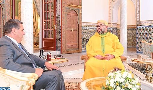 كلفه ببلورة تصور استراتيجي لتطوير القطاع الفلاحي.. الملك يستقبل أخنوش في مراكش