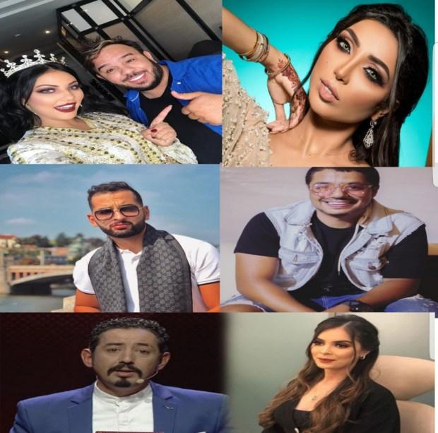 بالصور والفيديو.. كلاشات قوية بين مشاهير مغاربة