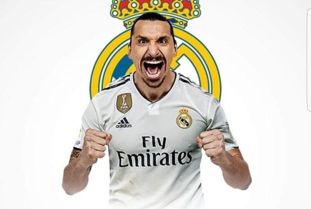 بغاو يلاهيو الجمهور.. ريال مدريد يفكر في التعاقد مع زلاتان ابراهيموفيتش!!