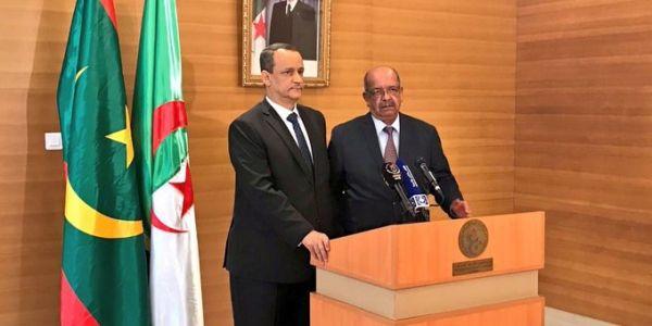 قبل لقاء جنيف.. وزير خارجية موريتانيا يطير إلى الجزائر